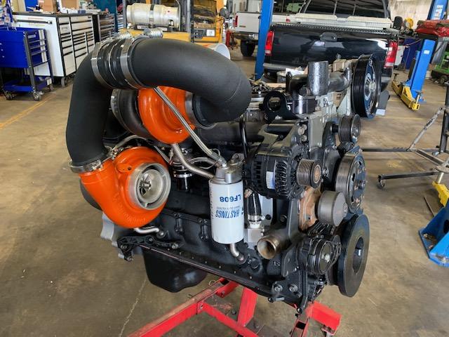 Turbo Engine – Orange on Stand